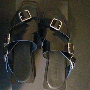 Jil Sander buckle sandal